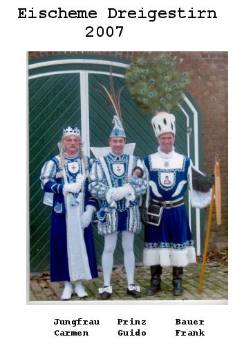 Dreigestirn Eschmar 2007